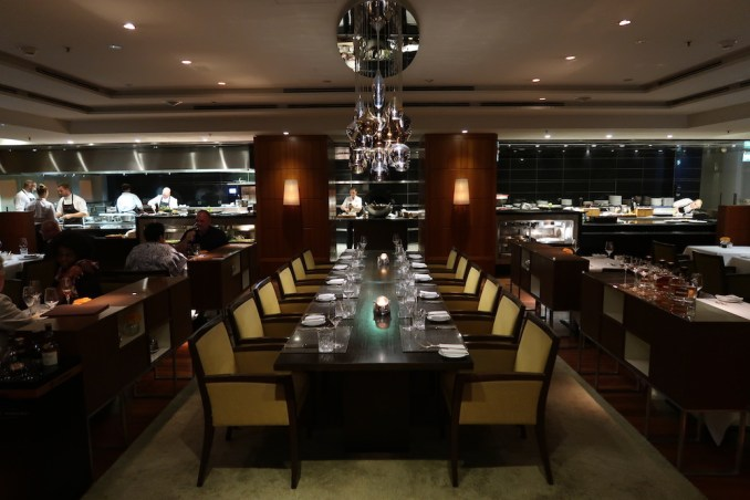 PARK HYATT HAMBURG: DINNER AT APPLES RESTAURANT
