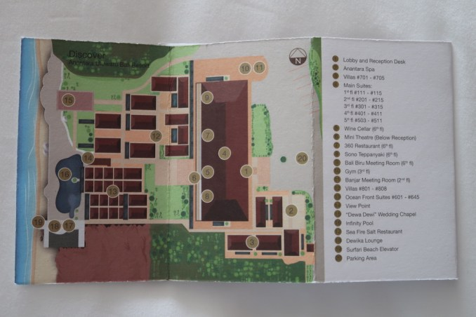 ANANTARA ULUWATU: RESORT MAP