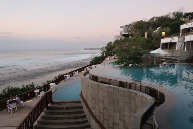 ANANTARA ULUWATU AT NIGHT