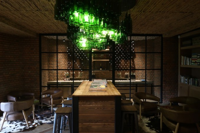 BISATE LODGE: MAIN PAVILION - WINE CELLAR