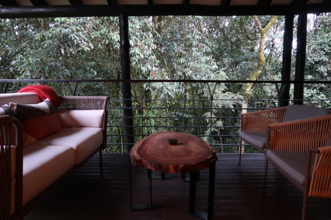ONE&ONLY NYUNGWE HOUSE: FOREST SUITE - BALCONY