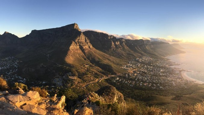 CAPE TOWN'S ATLANTIC SEABOARD, SOUTH AFRICA