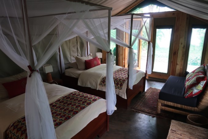 RUZIZI TENTED LODGE: ROOM