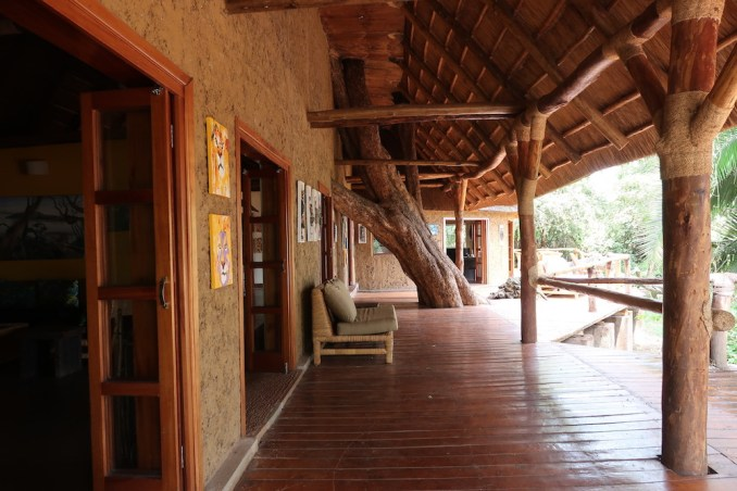 RUZIZI TENTED LODGE: MAIN BUILDING' S TERRACE