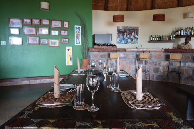 RUZIZI TENTED LODGE: DINING ROOM