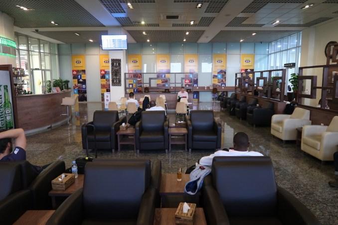 KIGALI AIRPORT - BUSINESS CLASS LOUNGE