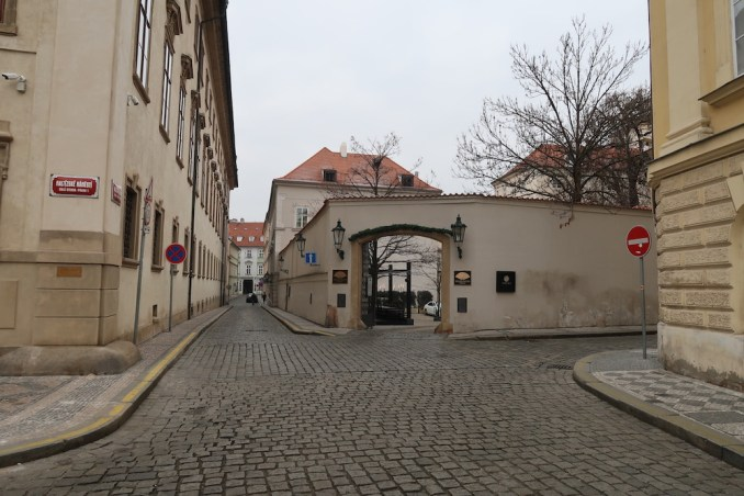 MANDARIN ORIENTAL PRAGUE - ENTRANCE