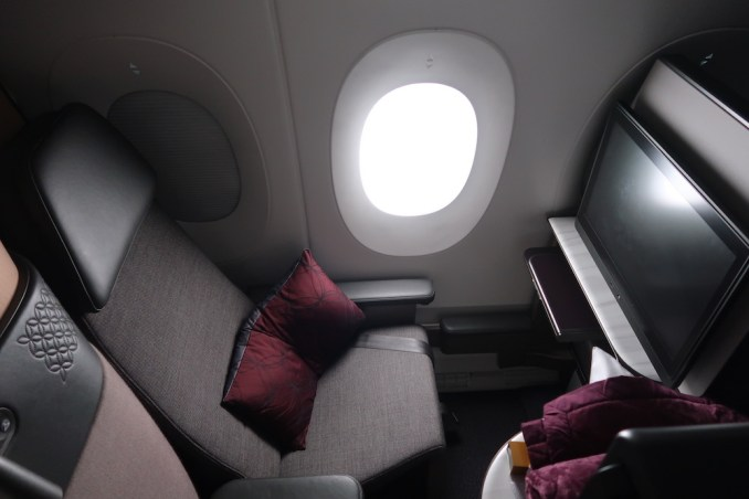 QATAR AIRWAYS A350 QSUITE (IN FLIGHT)