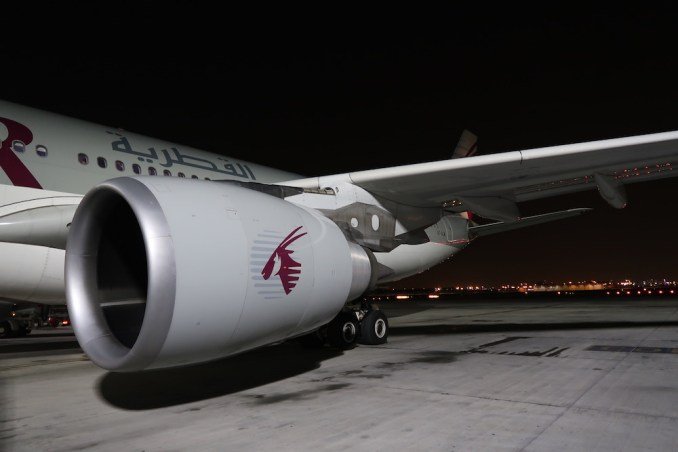 QATAR AIRWAYS AIRBUS A330-200 AT HAMAD INTERNATIONAL AIRPORT