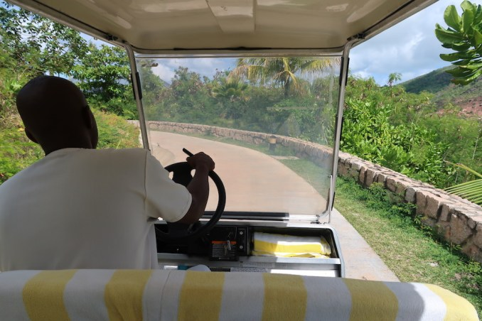 RAFFLES SEYCHELLES: RESORT GROUNDS (BUGGY SERVICE)