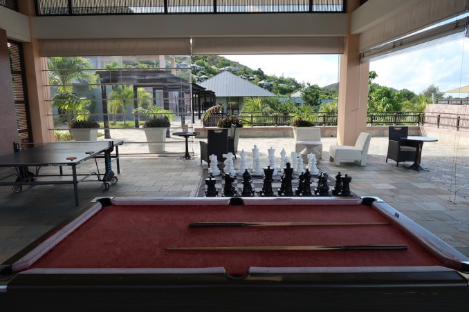 RAFFLES SEYCHELLES: GAME ROOM