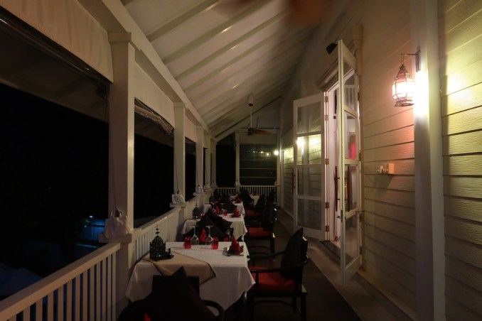 BANYAN TREE SEYCHELLES: DINNER AT CHEZ LAMAR