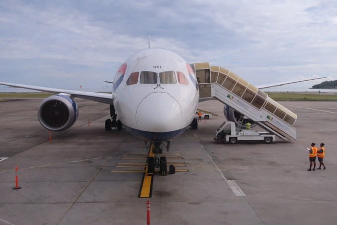 BRITISH AIRWAYS BOEING 787-9 DREAMLINER