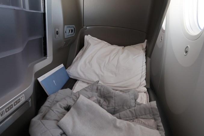 BRITISH AIRWAYS B787: BUSINESS CLASS SEAT (FLAT BED)