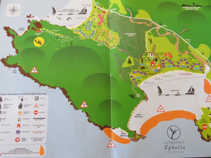 CONSTANCE EPHELIA - RESORT MAP