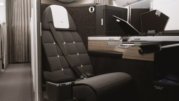 INTRODUCTION OF A NEW FABULOUS BUSINESS CLASS SEAT