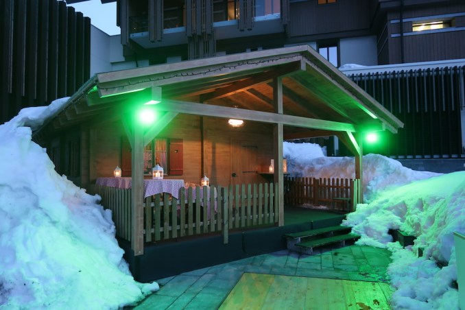 THE CHEDI ANDERMATT: DINNER AT THE CHALET