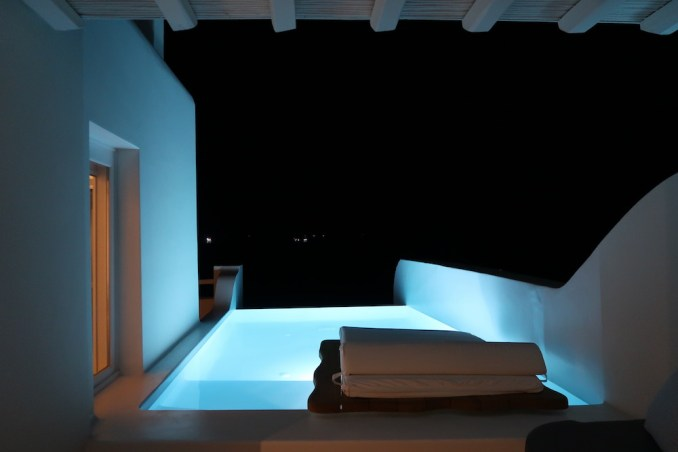 CAVO TAGOO MYKONOS AT NIGHT