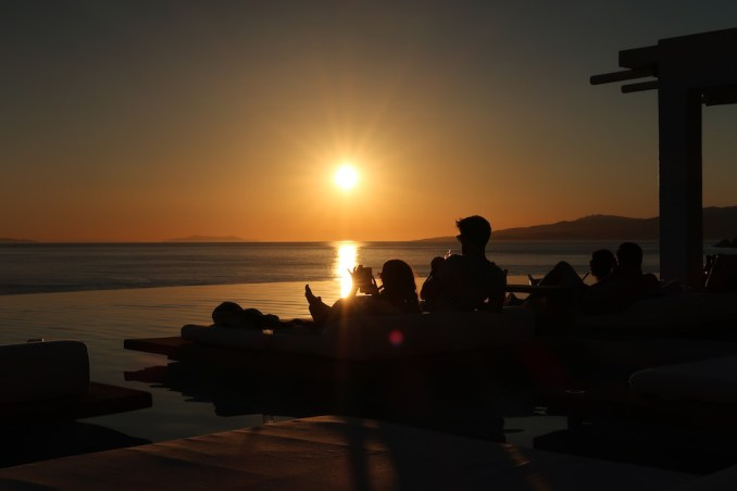 CAVO TAGOO MYKONOS: INFINITY POOL (SUNSET)