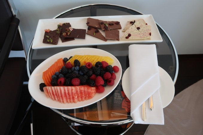 THE DOLDER GRAND: JUNIOR SUITE GRAND - WELCOME AMENITIES