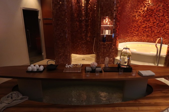 THE DOLDER GRAND: SPA - WET AREA
