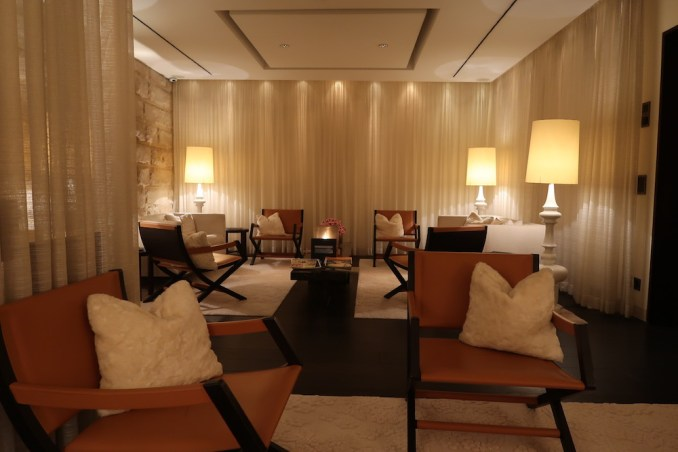 THE DOLDER GRAND: SPA - RELAXATION LOUNGE
