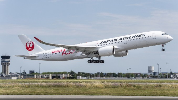 JAPAN AIRLINES A350 domestic