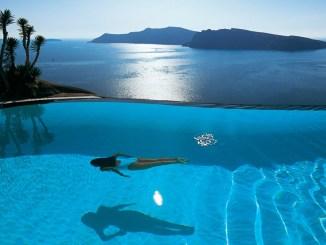 BEST HOTELS GREEK ISLANDS SANTORINI MYKONOS