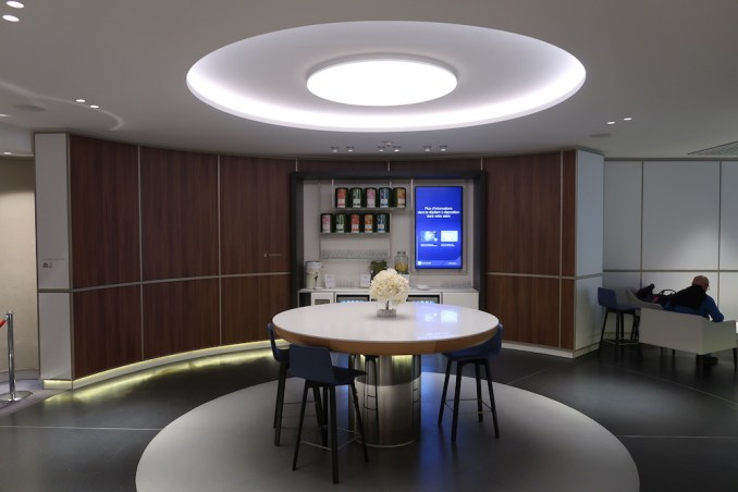 AIR FRANCE LOUNGE AT PARIS CDG AIRPORT: WELLNESS AREA