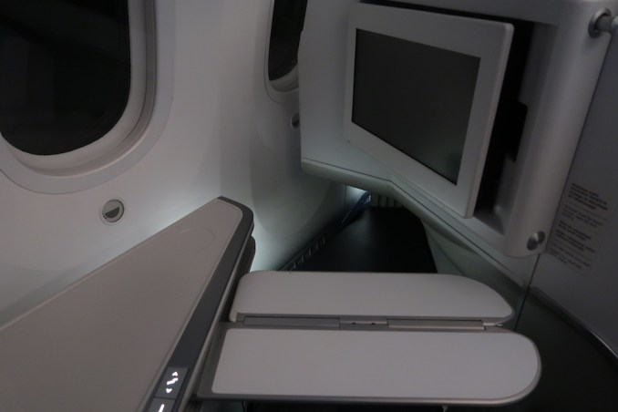 AIR FRANCE BOEING 787 BUSINESS CLASS SEAT