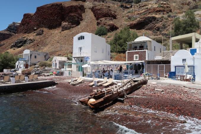 SANTORINI: LUNCH AT ARMENI RESTAURANT