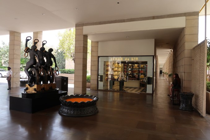 THE LODHI DELHI: WELCOME PAVILION