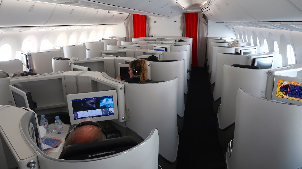 Review: Air France Boeing 787 Business Class from the
