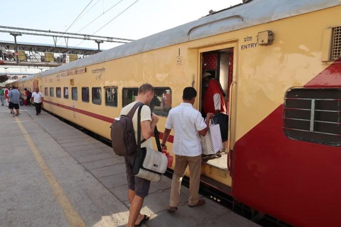TRANSFER TO AMAN-I-KHAS BY TRAIN FROM DELHI