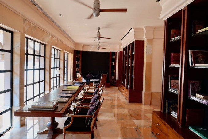 AMANBAGH: LIBRARY