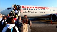 kenya airways boeing 737 business class review