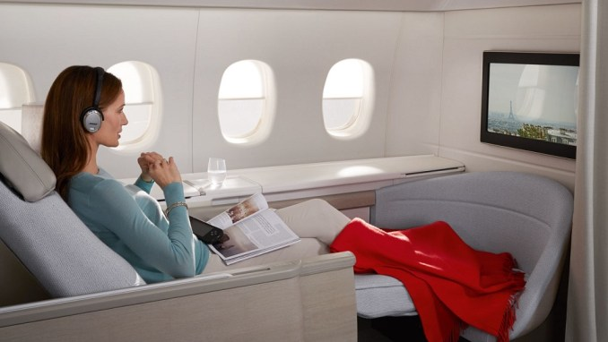 airlines with best first class: AIR FRANCE