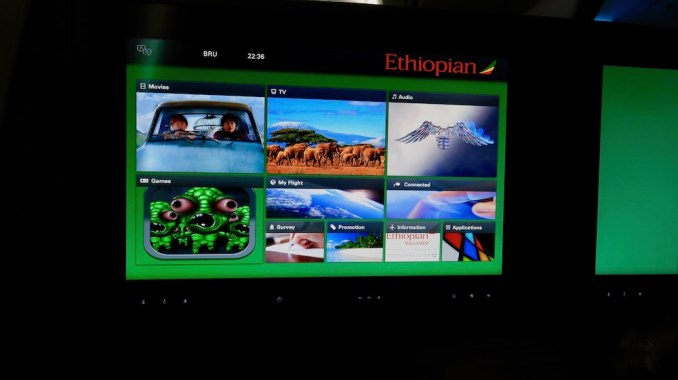 ETHIOPIAN AIRLINES INFLIGHT ENTERTAINMENT
