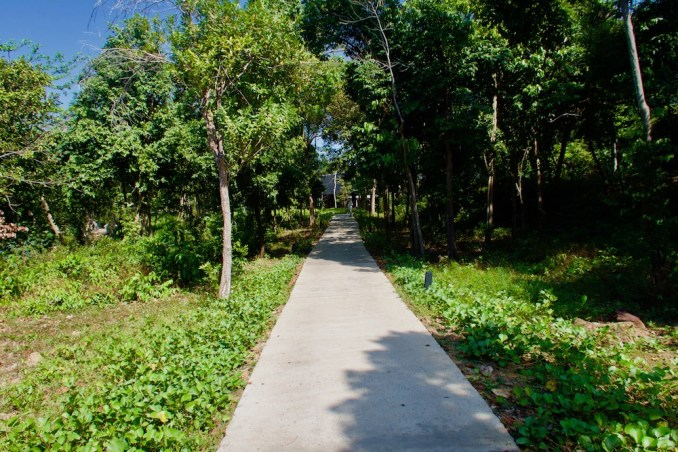 PATH FROM JETTY TO LOBBY