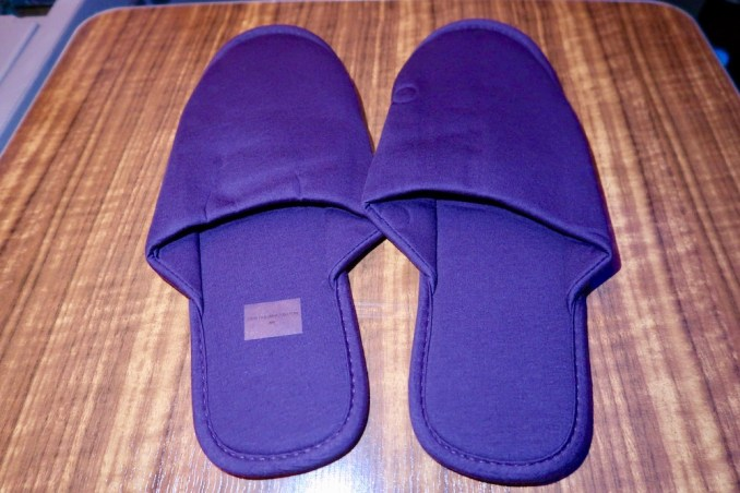 CATHAY PACIFIC PAJAMAS & SLIPPERS