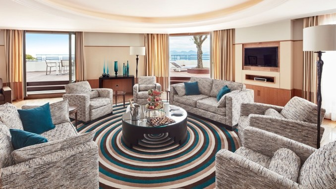 THE PENTHOUSE SUITE, HÔTEL MARTINEZ BY HYATT, CANNES, FRANCE