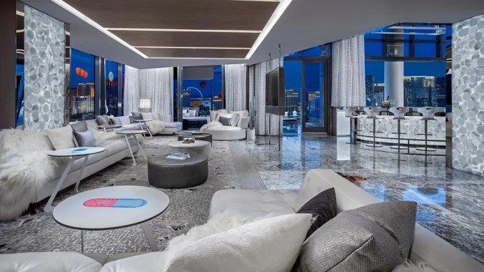THE EMPATHY SUITE, PALMS CASINO RESORT, LAS VEGAS, USA