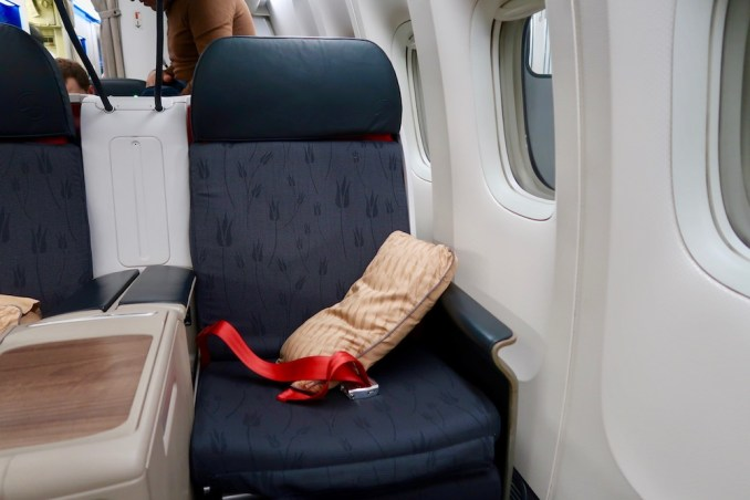 TURKISH AIRLINES BUSINESS CLASS SEAT
