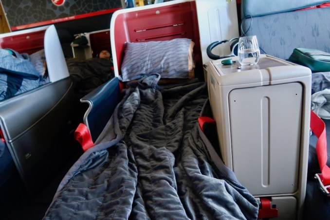 TURKISH AIRLINES BUSINESS CLASS SEAT (FLAT BED)