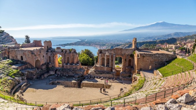 ADMIRE THE VIEWS FROM TAORMINA