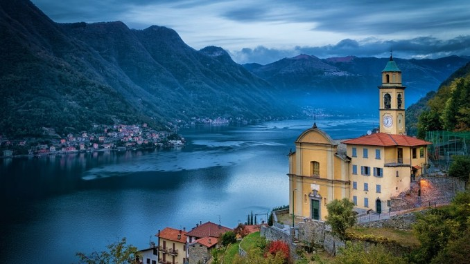 TAKE TO THE WATERS OF LAKE COMO