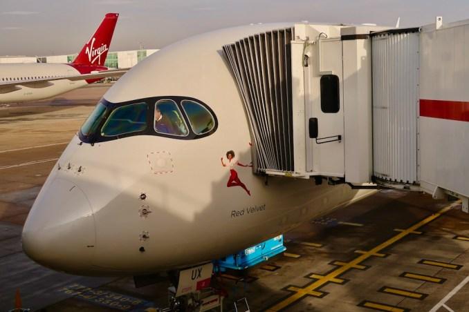 VIRGIN ATLANTIC AIRBUS A350