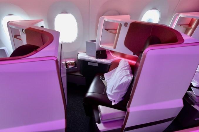 VIRGIN ATLANTIC A350 UPPER CLASS SEAT