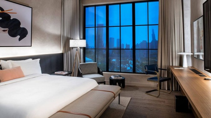 NOBU HOTEL CHICAGO, ILLINOIS, USA