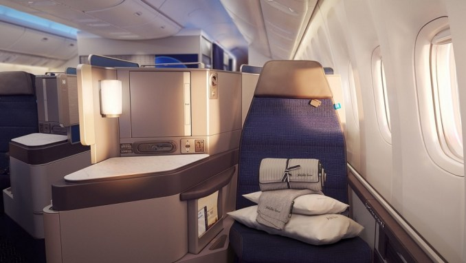 EXPERIENCING UNITED AIRLINES' NEW POLARIS BUSINESS CLASS